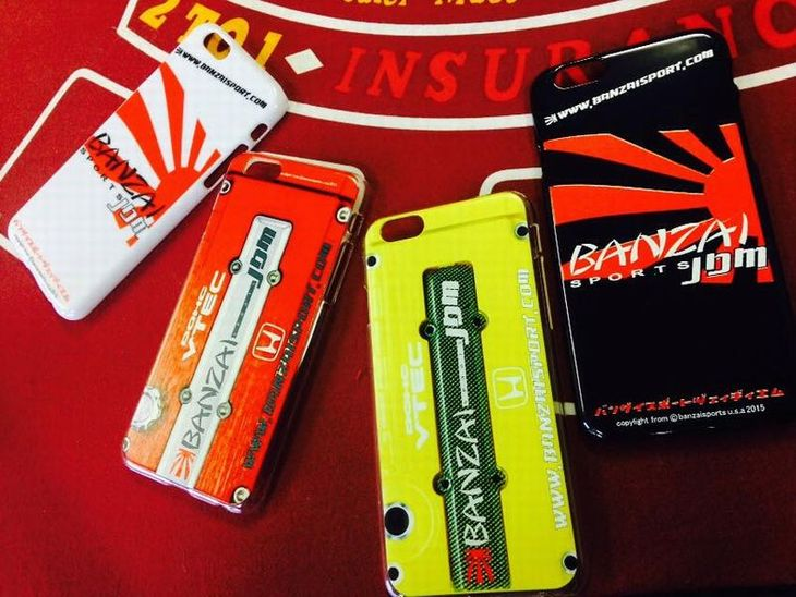 Banzai Sports iPhone cases