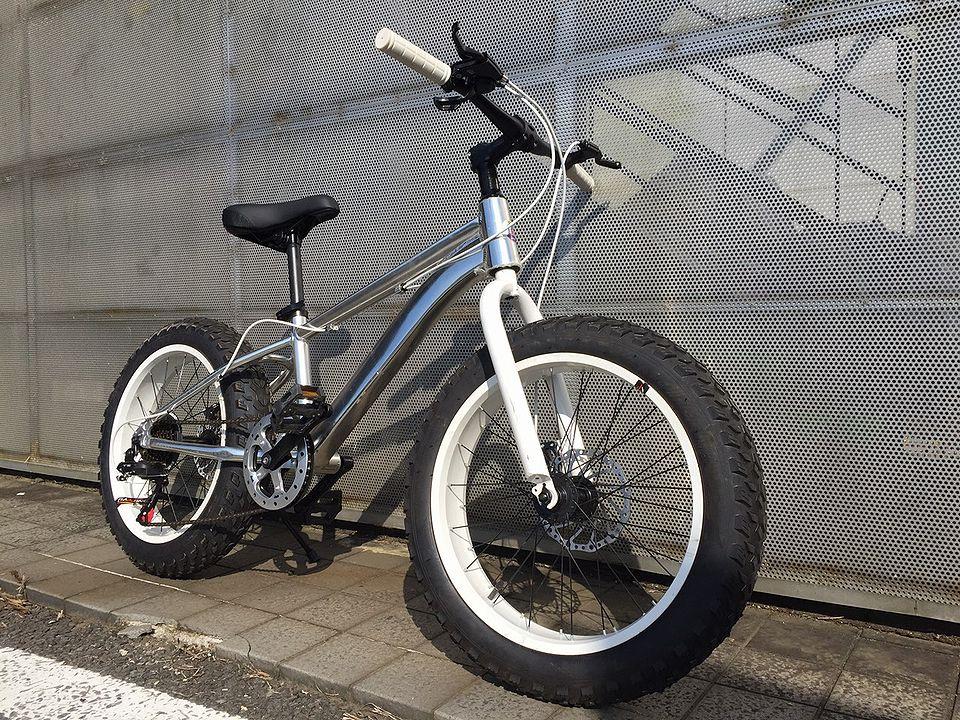 stryke BMX fat bike white