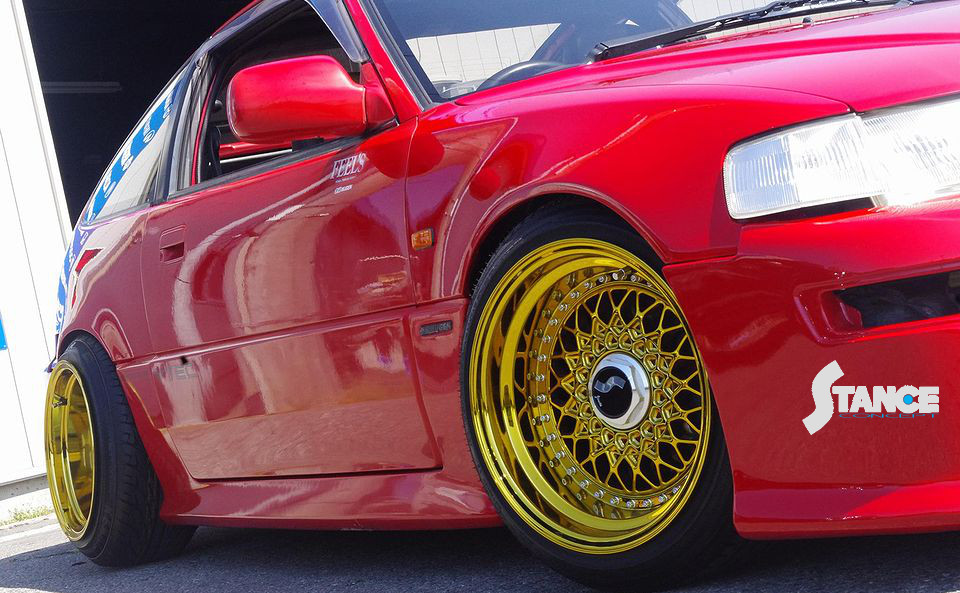 Stanceconcept Rising Sun All Gold /Honda CRX