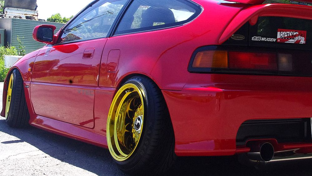 Stanceconcept Rising Sun All Gold/Honda CRX