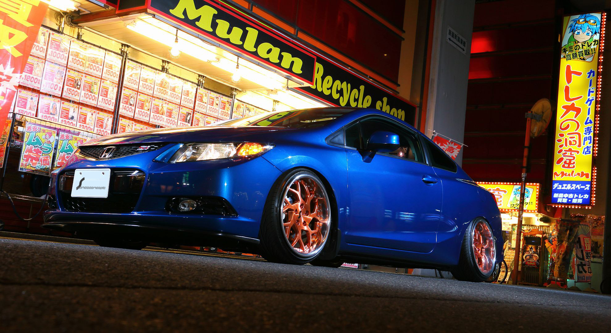 Stanceconcept Forged Tetsuone/Honda civic in TOKYO
