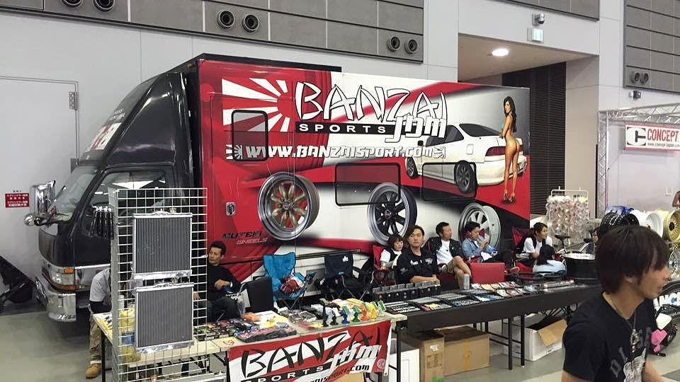 Cross five Miyagi 2015 Banzai Sports booth