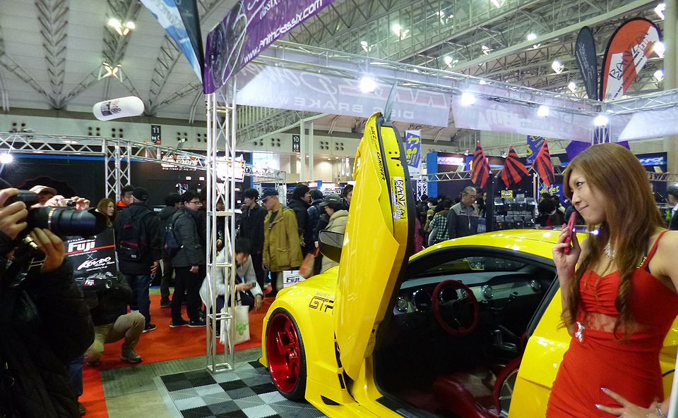 Tokyo Auto Salon 2016 our booth