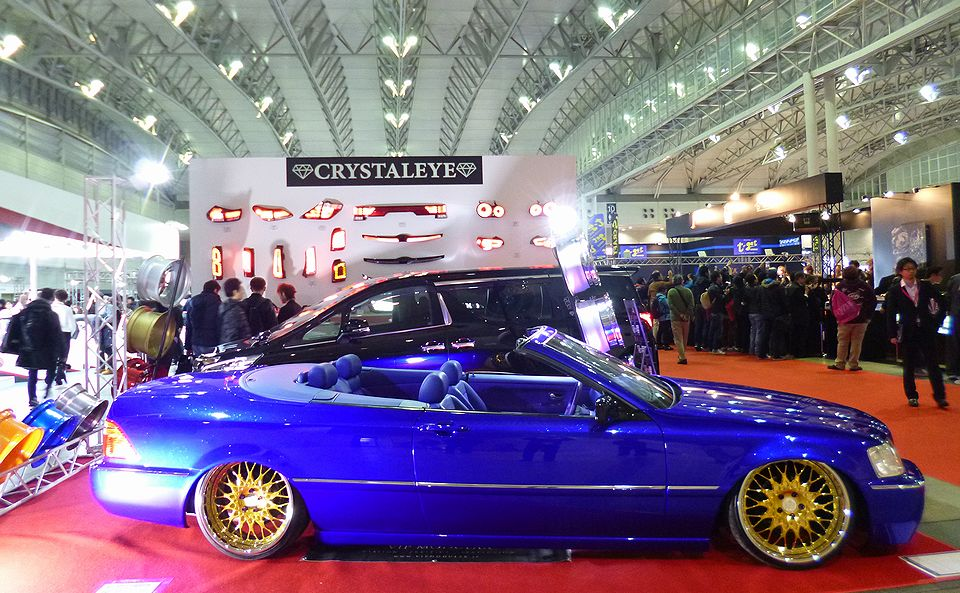 Tokyo Auto Salon 2016 behind our booth