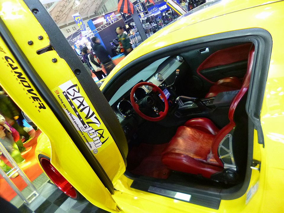 Tokyo Auto Salon 2016 our Mustang