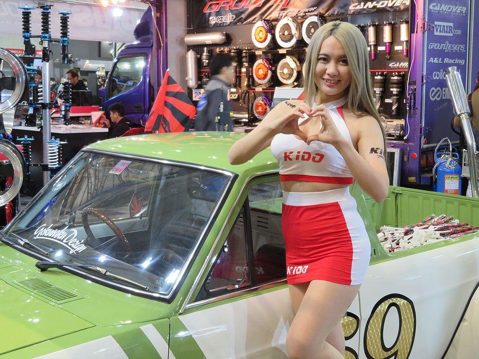Tokyo Auto Salon 2018 embrace you