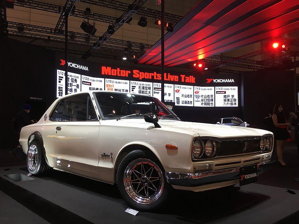 Tokyo Auto Salon 2018 nostalgic GTR
