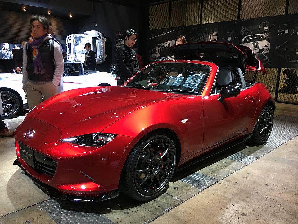 Tokyo Auto Salon 2018 Mazda RX