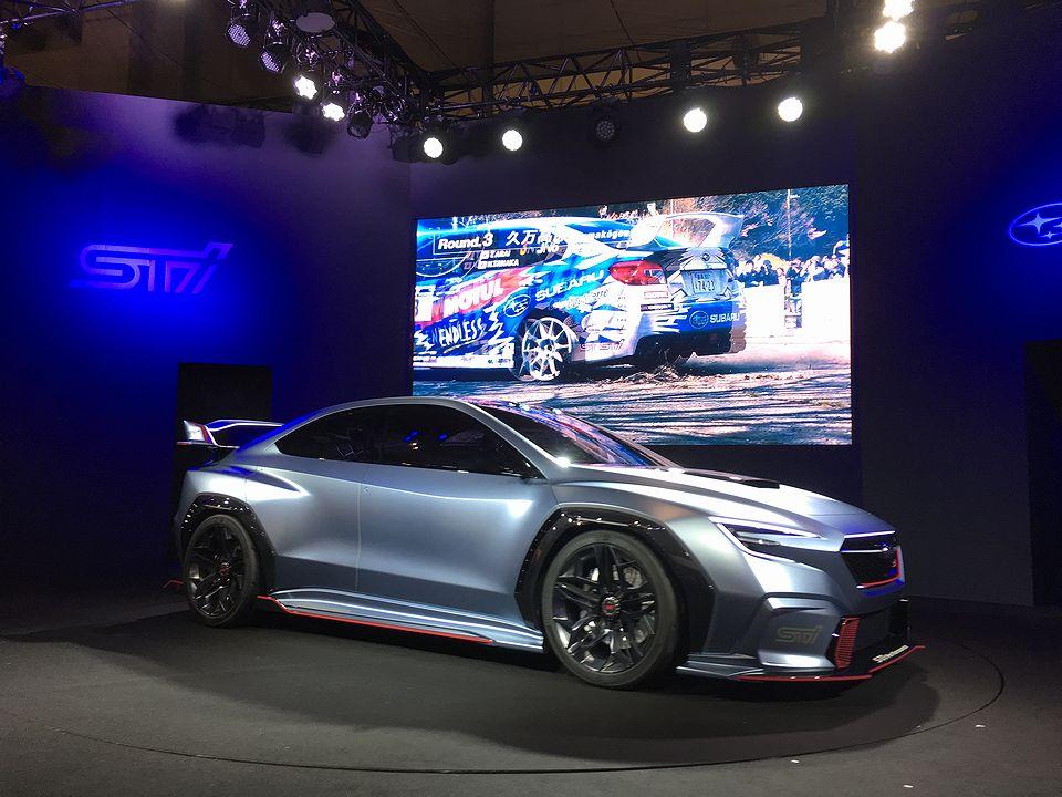 Tokyo Auto Salon 2018 subaru